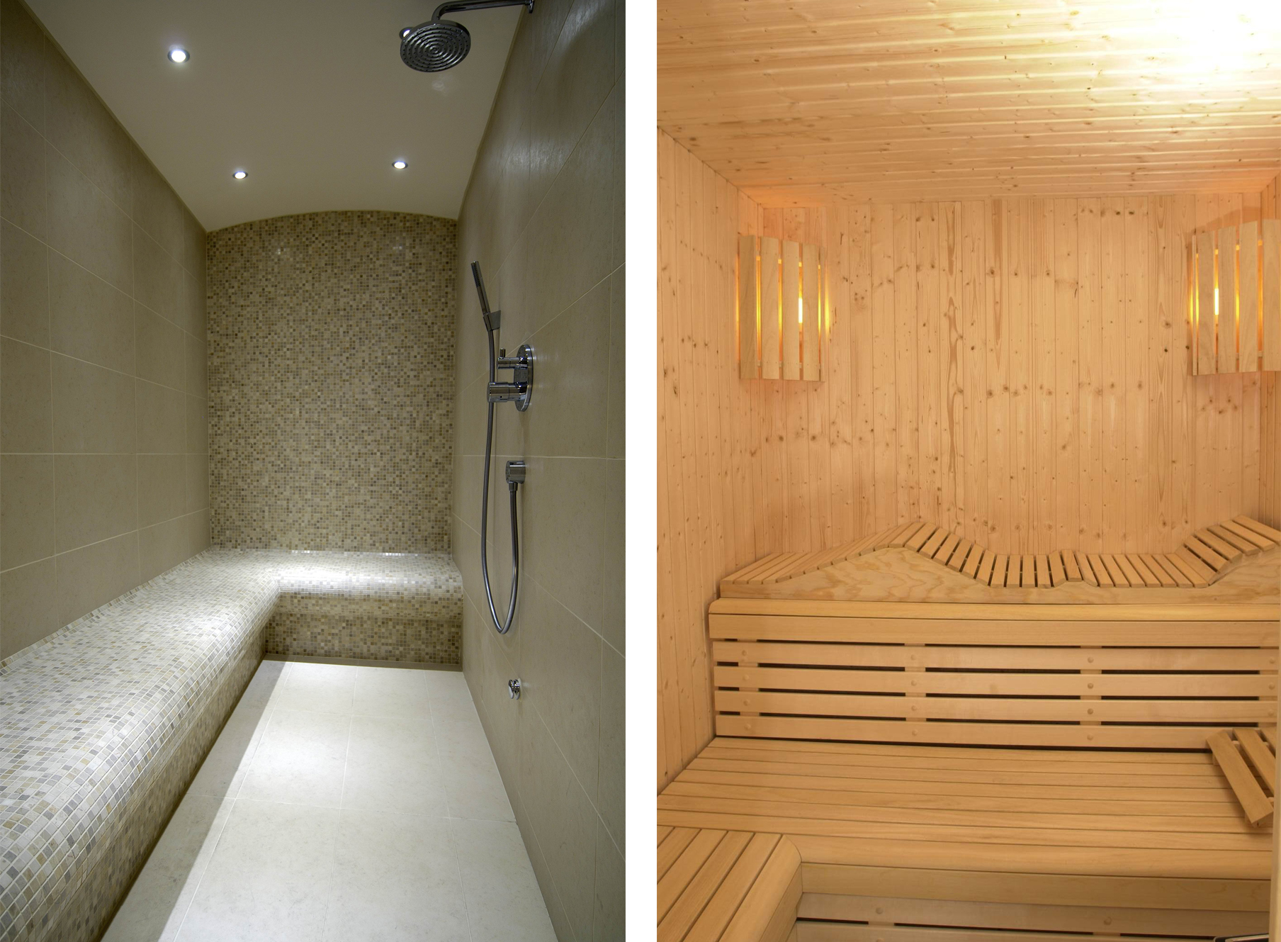 Sauna & Steam Room Montage